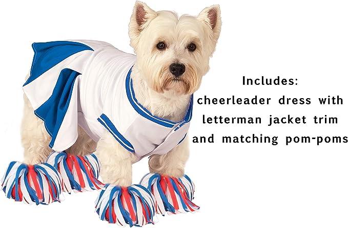 I Love New York Cheerleader Dog Dress Tiny