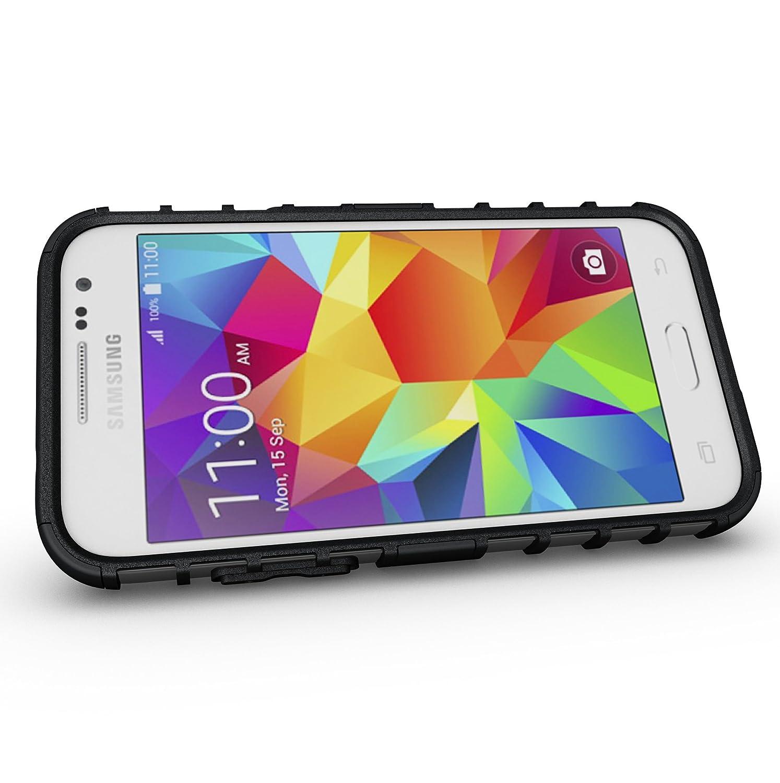 Amazon Samsung Galaxy Core Prime Case Tough Rugged Dual Layer Protective Case with Kickstand for Samsung Galaxy Core Prime G360 Prevail LTE