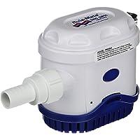 Rule-Mate Bomba de achique automática, no Requiere Interruptor de flotación, Sensor de Agua