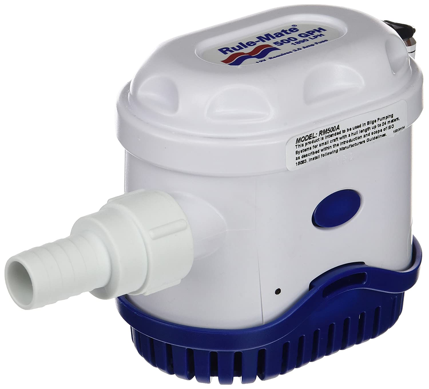 Amazon.com: Rule-Mate Automatic Bilge Pump, No Float Switch Required, Water  Sensing: Rule: Sports & Outdoors