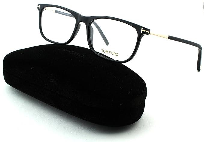 6978cb10da Tom Ford FT 5398 Unisex Geometric Eyeglasses (Shiny Black Frame 001 ...