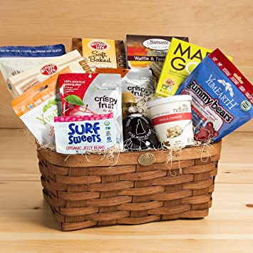 Allergy free gourmet gift basket free from 8 common allergens allergy free gourmet gift basket free from 8 common allergens negle Choice Image