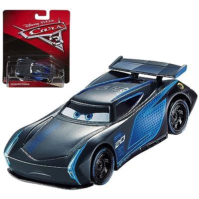 Disney Cars 3 DieCast Jackson Storm 1:55 Scale: Toys & Games