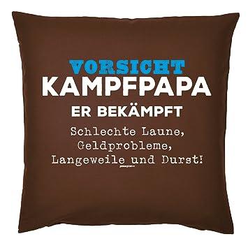 Tini Shirts Lustiges Papa Spruche Kissen Motiv Spruch Vater