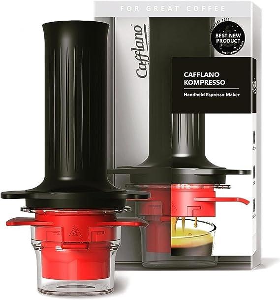Cafflano Kompresso, cafetera de Espresso de Mano: Amazon.es ...