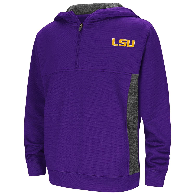Colosseum Youth NCAA Goon Docks 1 4 Zip Pullover Hoodie Sweatshirt