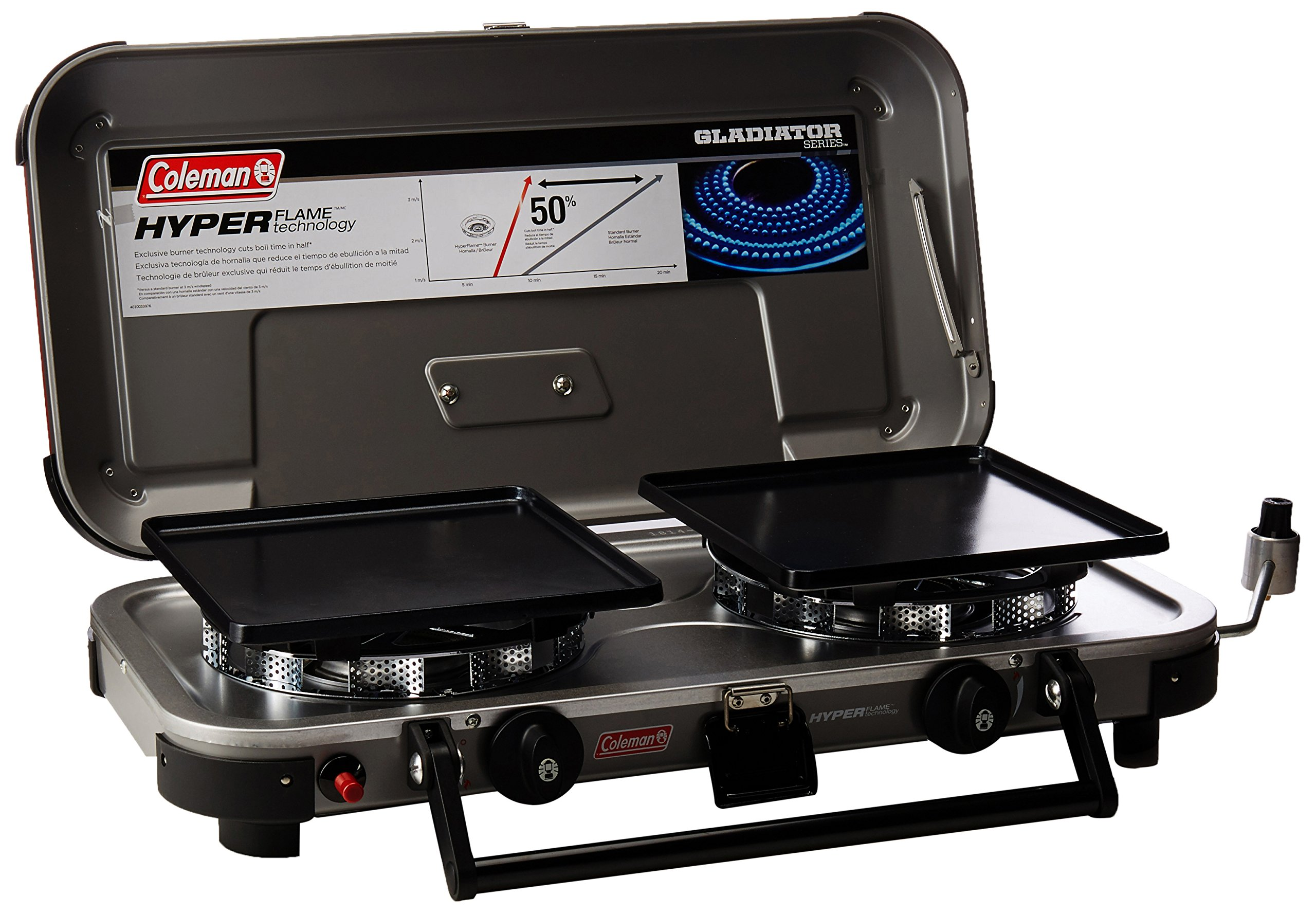 Coleman Company Signature Hyper Flame Gladiator Stove, Black by Coleman (Image #1)