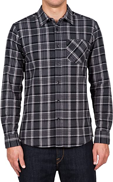 Volcom Gaines L/S - Camisa con Botones Hombre: Volcom: Amazon.es: Deportes y aire libre
