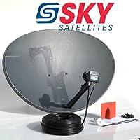 Sky Satellites 80CM Zone 2 Freesat HDR Satellite Dish DIY Self Installation KitLatest