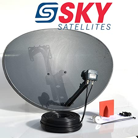 Astonishing Sky Satellites 80Cm Zone 2 Freesat Hdr Satellite Dish Amazon Co Uk Wiring Digital Resources Sapredefiancerspsorg