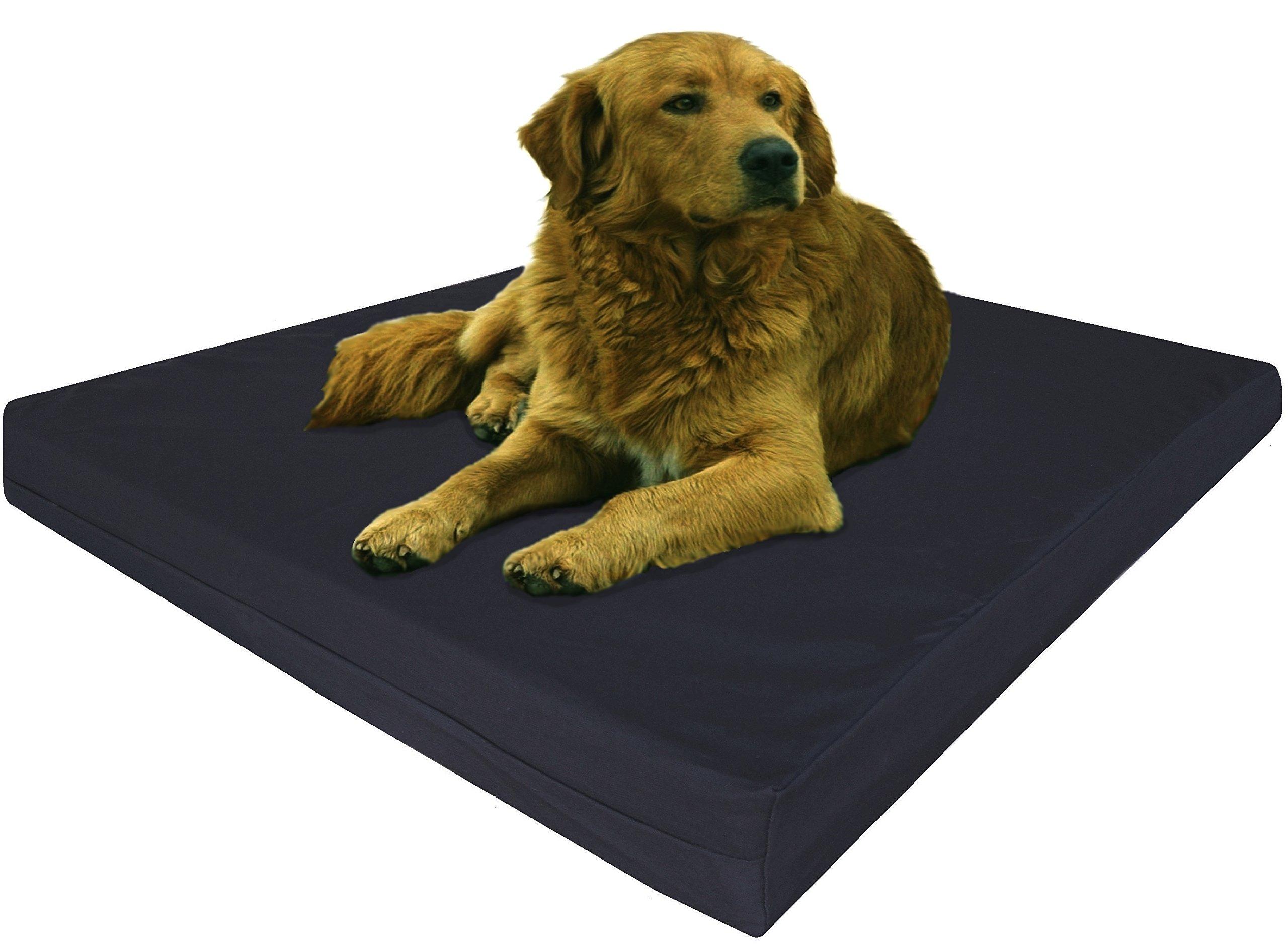shop harmony product memory petco petcostore en aqua aztec print dog foam center lounger bed