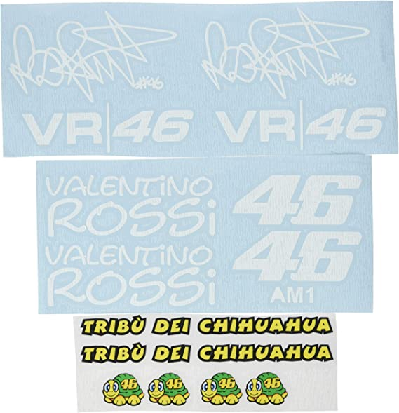 Ecoshirt 6y Rwlt Shwv Sticker Am1 Tribu Chihuahua Rossi Vr46 Stickers Decals Sticker The Doctor White Auto