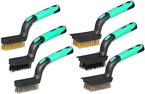 Amazon.com: Detailing cepillo para polvo de alambre Set ...