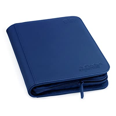 Ultimate Guard 4-Pocket ZipFolio XenoSkin Dark Blue: Toys & Games