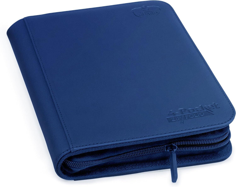 Purple Ultimate Guard 4-Pocket XenoSkin ZipFolio