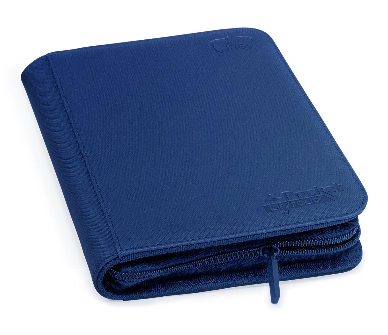 Ultimate Protection 4 xenoskin zipfolio (Bleu foncé ) Ultimate Guard UGD010354