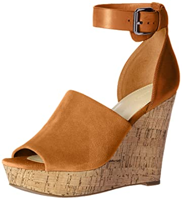 2757b0e69c Amazon.com | Marc Fisher Women's HADEYA Wedge Sandal | Platforms ...