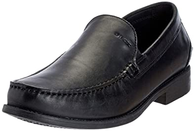 U Damon A - Smooth Leather, Mens Loafers Geox
