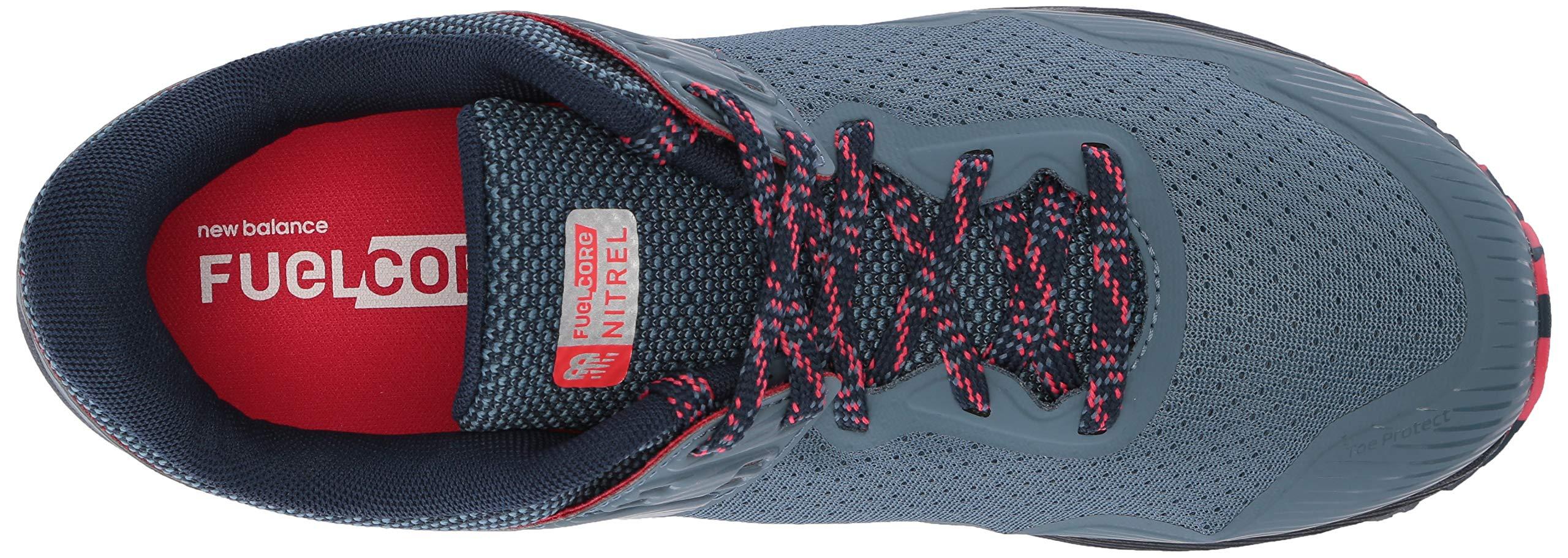 New Balance Women's Nitrel V2 FuelCore Trail Running Shoe Light Petrol/Galaxy/Blossom 6 B US by New Balance (Image #7)