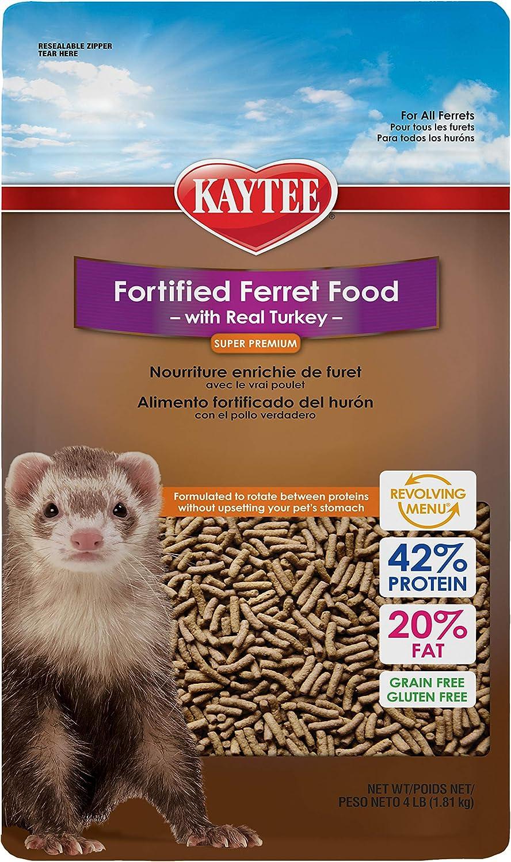 Kaytee Premium Ferret Food With Turkey, 4-Ib
