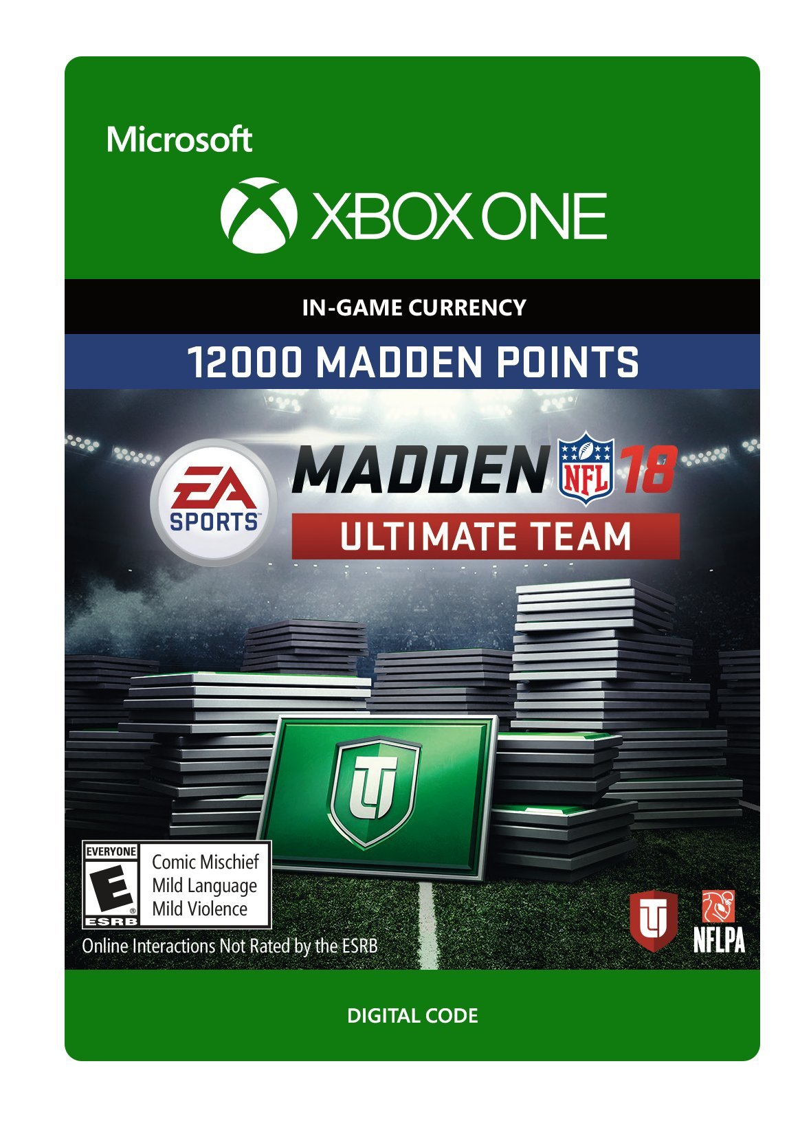 Madden 18 - 12000 Ultimate Team Points - Xbox One [Digital Code]