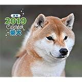 2019年ミニカレンダー 柴犬