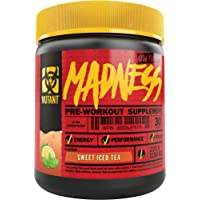 MUTANT MADNESS - Redefines the Pre-Workout Powder Experience and Takes it to a Whole New Extreme Level, Engineered Exclusively for High-Intensity Workouts (225 g), Sweet Iced Tea