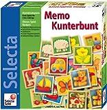 Selecta 3582 - Classico gioco memory in legno, soggetti: animali