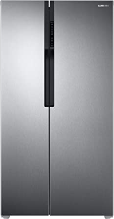 Samsung 604 L Frost Free Side-by-Side Refrigerator(RS55K5010SL/TL, Clean Steel, Inverter Compressor)