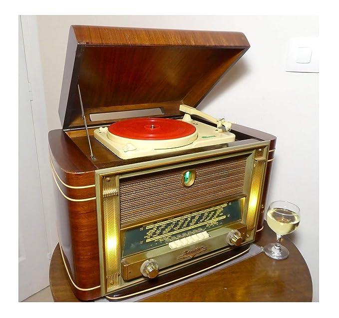Amazon.com: Reproducción de fonógrafo victor ...