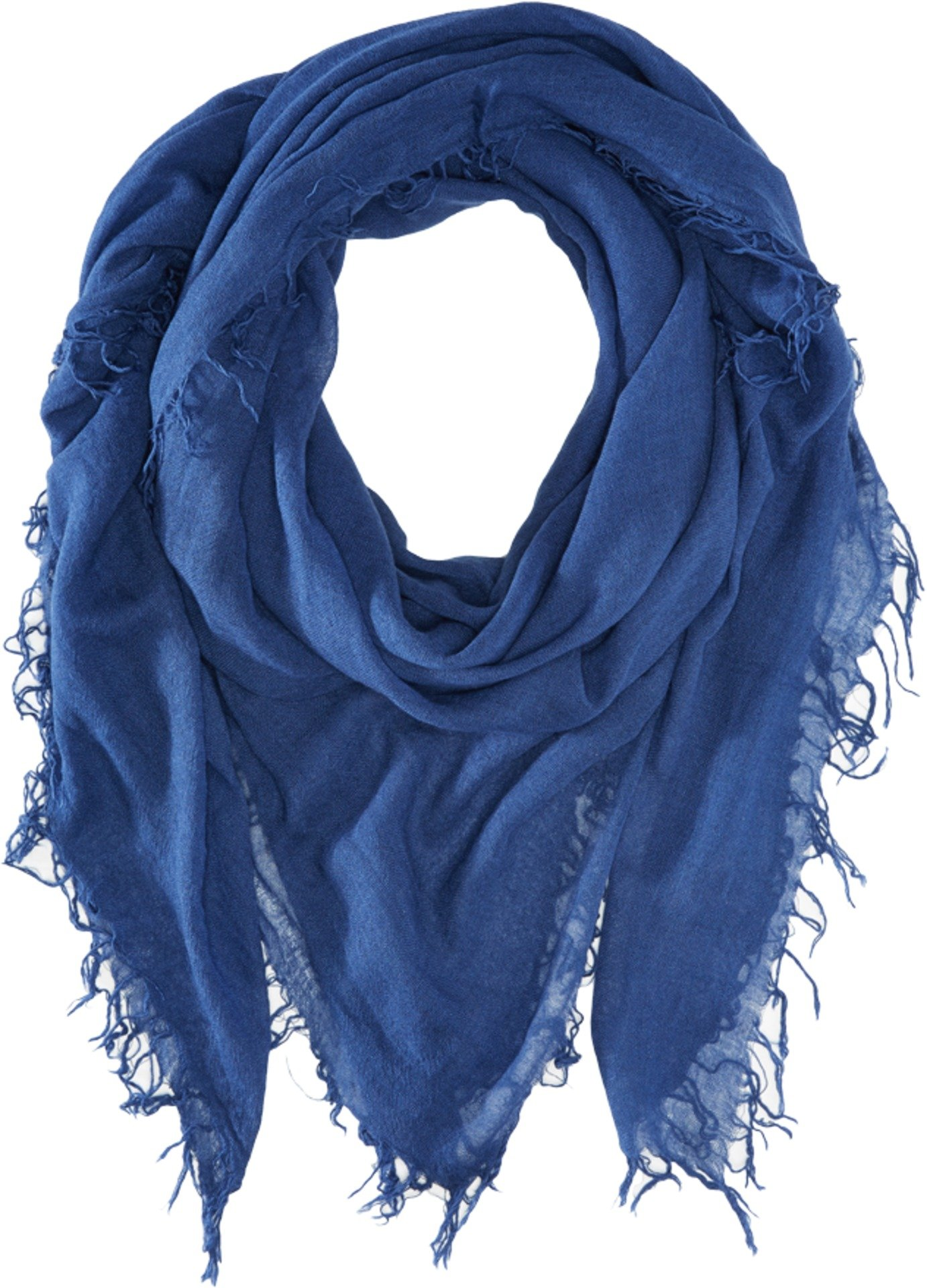Chan Luu Women's Cashmere and Silk Scarf Medieval Blue One Size by Chan Luu