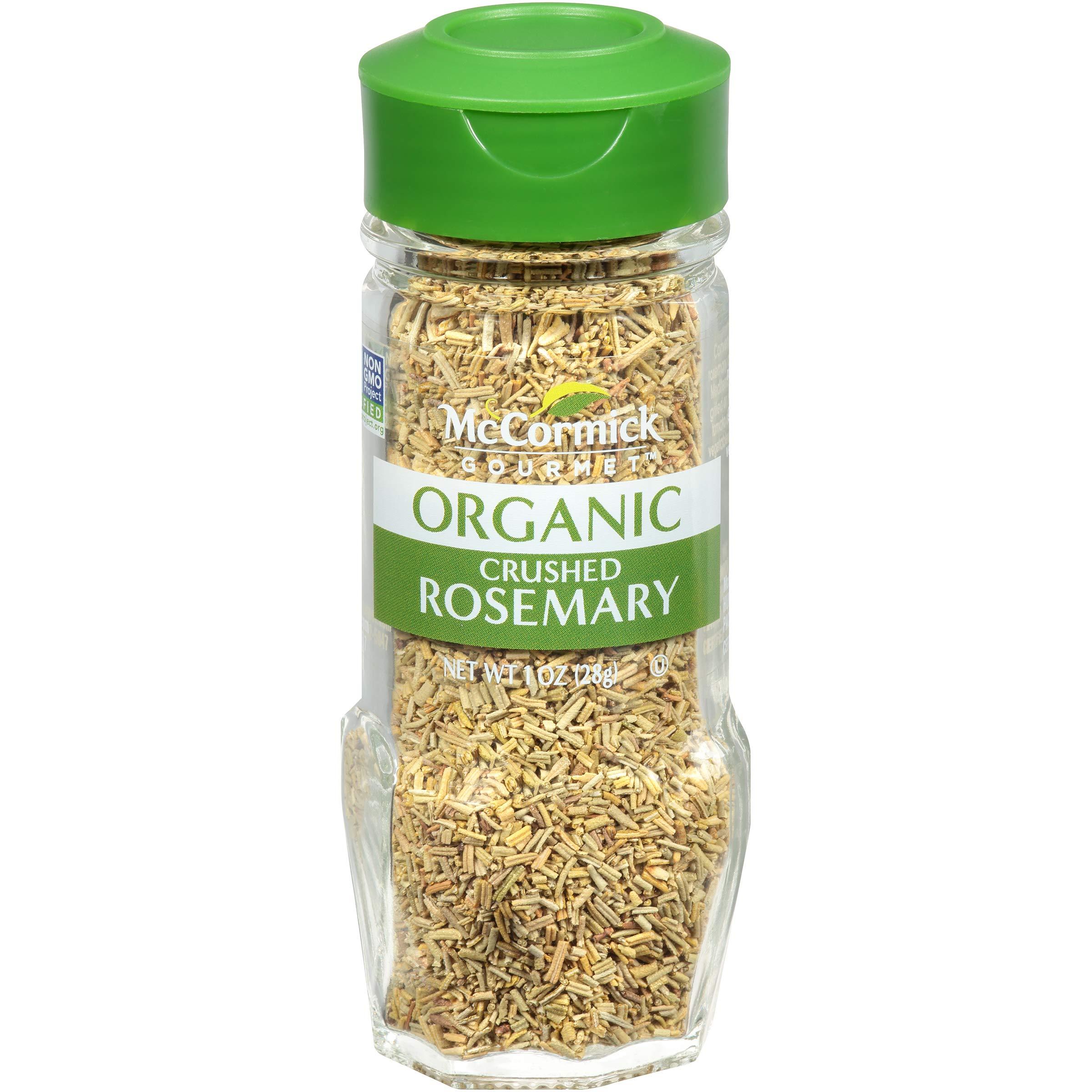 McCormick Gourmet Organic Crushed Rosemary, 1 oz