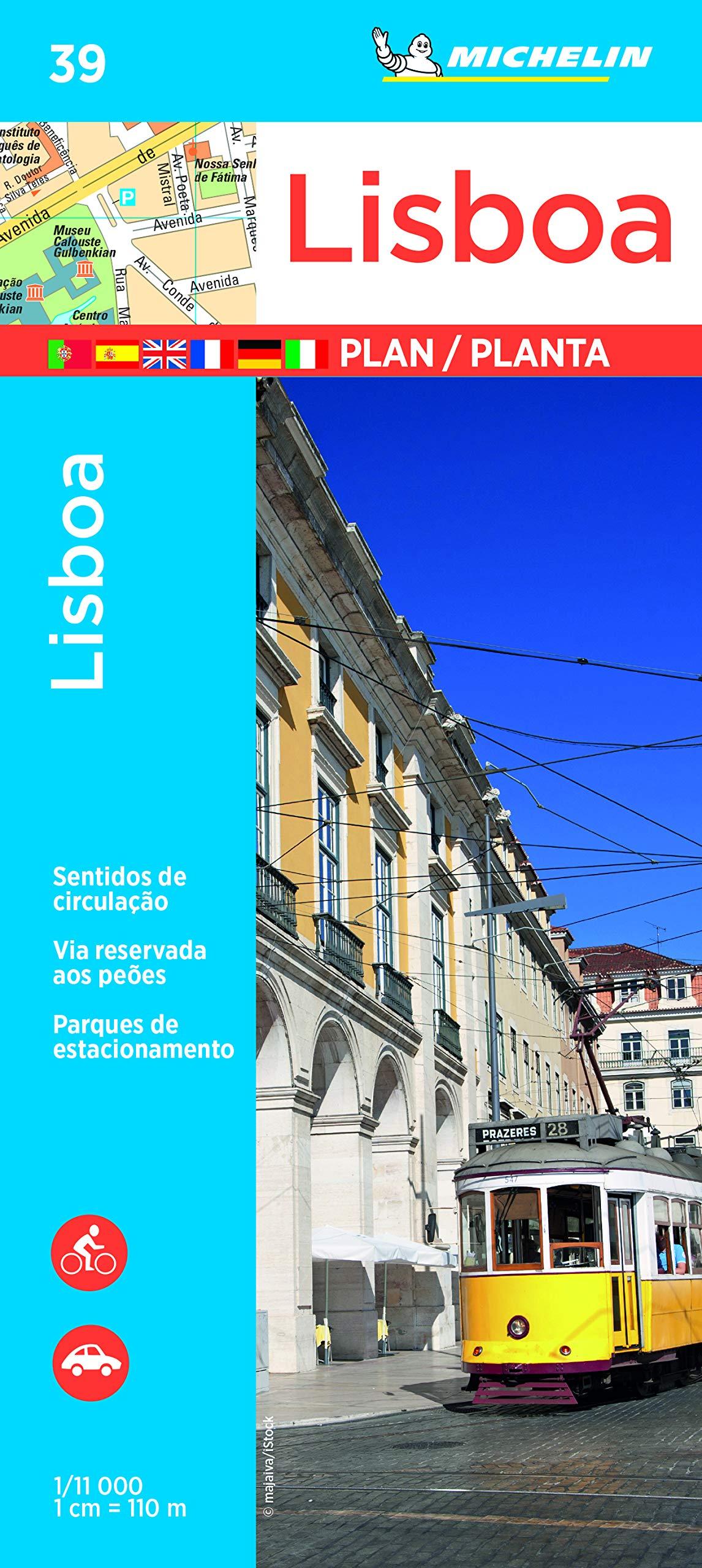 Plano Lisboa (Planos Michelin): Amazon.es: Michelin: Libros en idiomas extranjeros