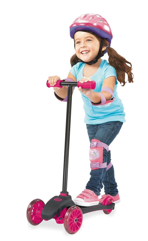 Amazon.com: Little Tikes – Lean a turn – Patinete (Rosa ...