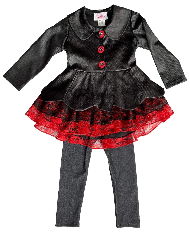 Toddler /& Girls Ruffle Off-Shoulder Jupsuit