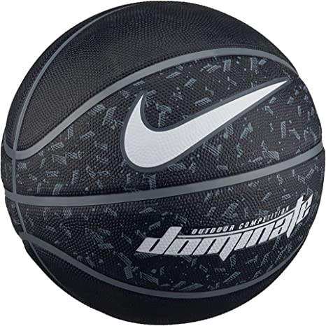 Similar construir Asentar  Nike NK Dominate 7 Ball, Unisex Adult, Black/White, One Size: Amazon.co.uk:  Sports & Outdoors