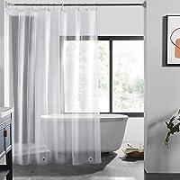LOVTEX Clear Shower Curtain Liner - 72x72 PEVA Light Weight 3G Shower Liner for Bathroom Shower, (3G Clear, 1PC)