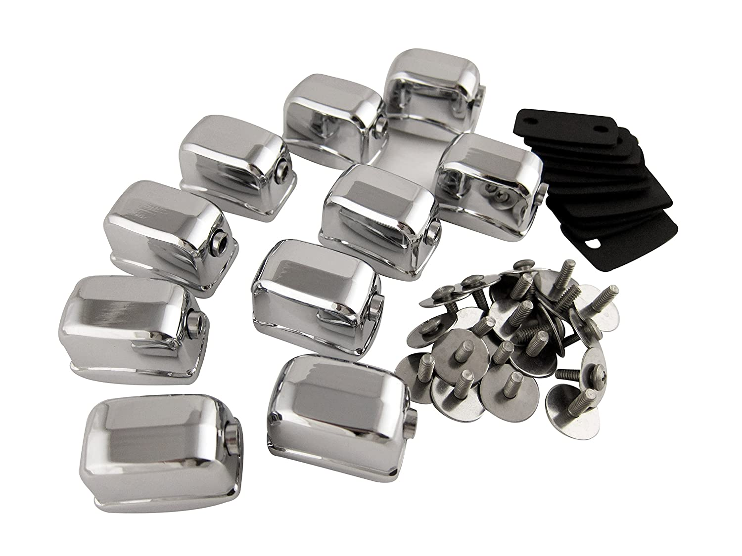 Goedrum 10 Single Ended Tom / Snare Drum Lugs with Mounting Screws