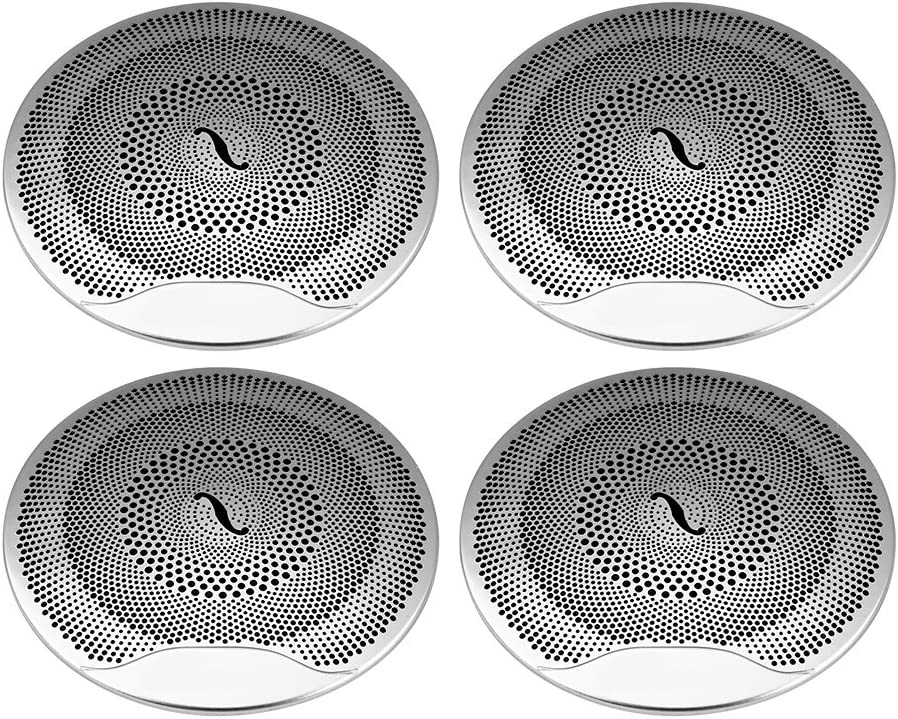 4pcs Car Audio Speaker Cover Door Loudspeaker Cover Trim for Mercedes Benz E//C//GLC Class W213 W205 B