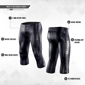 Amazon.com: Triatlón Traje de neopreno pantalones – Synergy ...