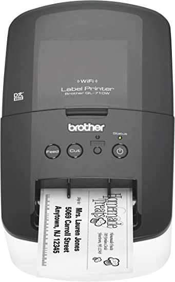 Amazon.com: Impresora de etiquetas Brother de alta velocidad ...