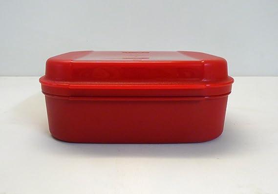 A03 großes Naschkätzchen Tupperware rot große Naschkatze