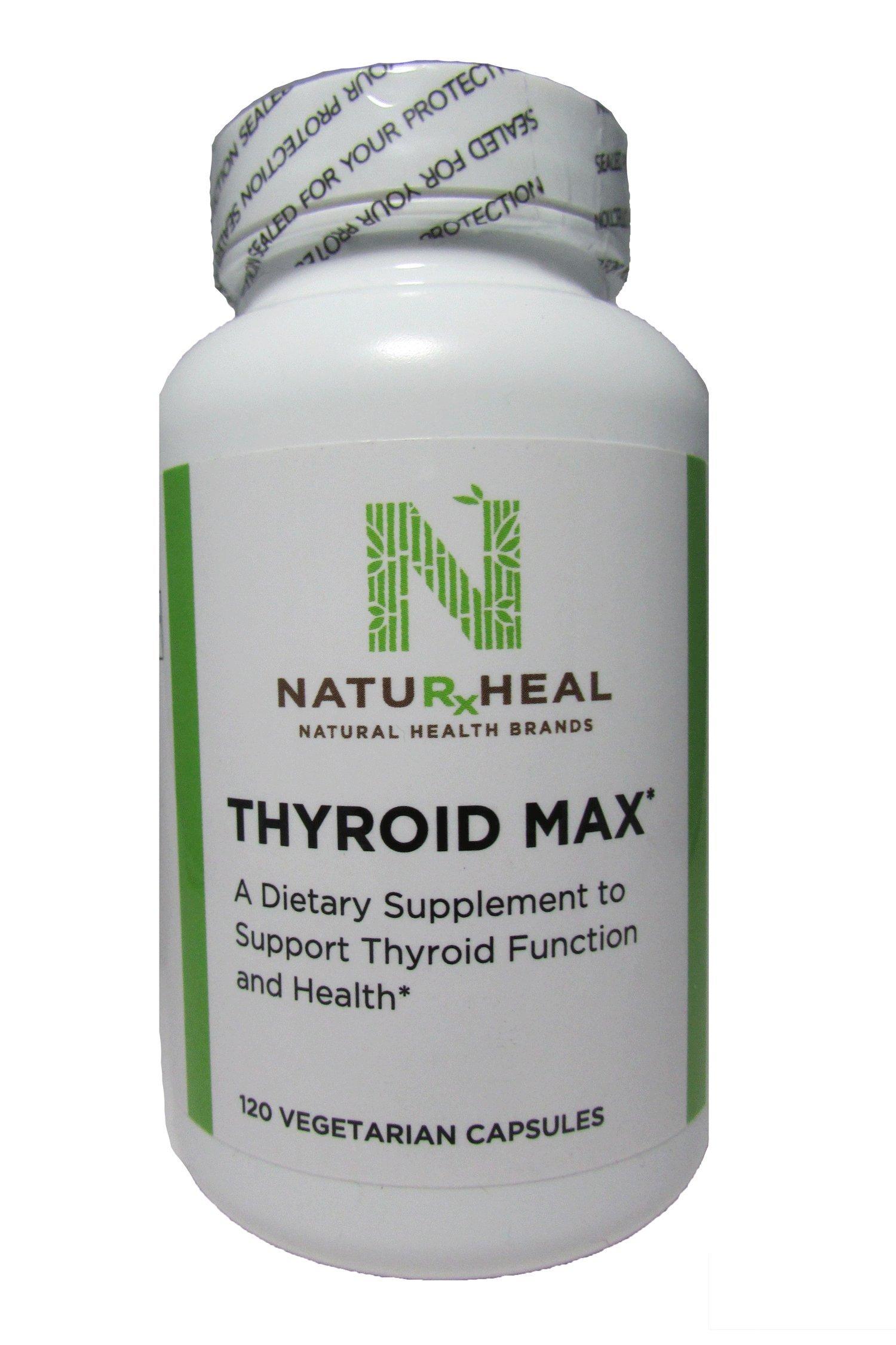 Thyroid Max 120 Vegetarian Capsules