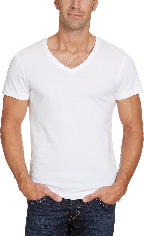 BLEND - Camiseta para Hombre, Talla 48, Color Blanco 002: Amazon.es: Ropa y accesorios