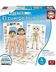Educa Borrás Cuerpo Humano Puzzle Educativo 16472