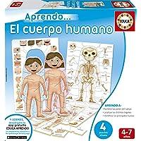 Educa Borrás- Cuerpo Humano Puzzle Educativo, Multicolor, Talla