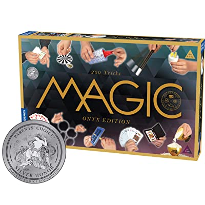 Thames & Kosmos Magic: Onyx Edition Playset with 200 Tricks: Toys & Games
