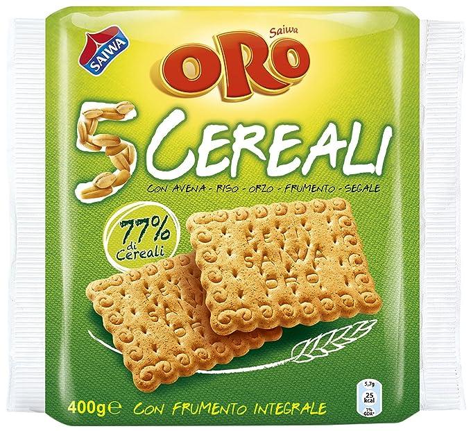 Saiwa Gold - 5 cereales, galletas con harina de trigo integral - 400 G 72