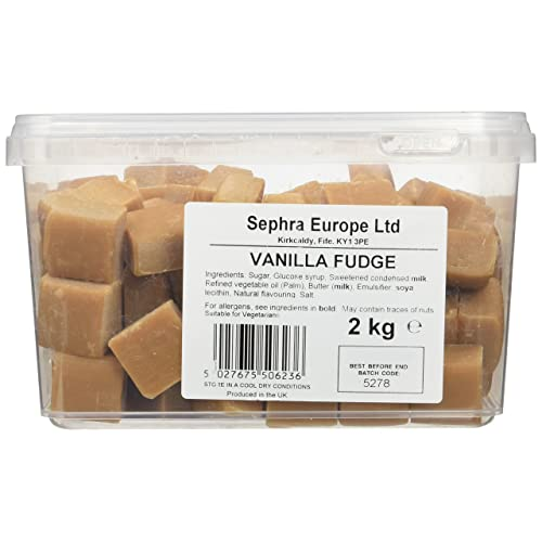 Sephra English Vanilla Fudge in Tub 2 kg
