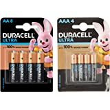 Duracell Alkaline AA (Pack of 8) & AAA (Pack of 8) Battery